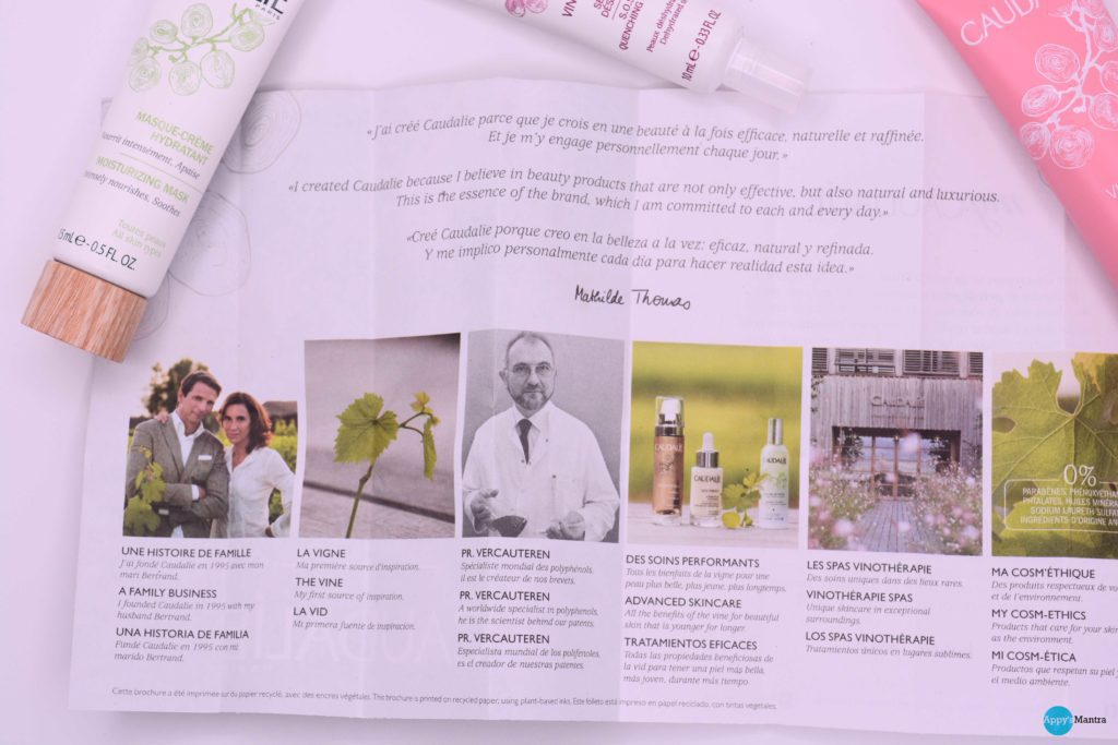 Caudalie Skin Care – Review