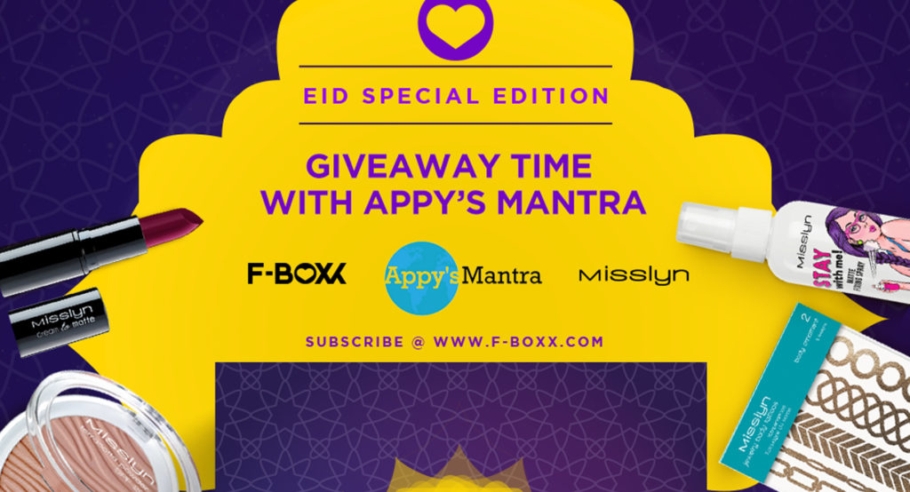 GIVEAWAY CLOSED – Celebrate This Eid with F-BOXX