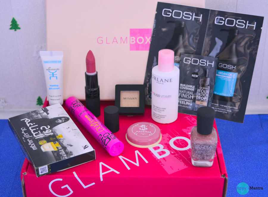 What's in my GlamBox – Beauty Essentials for New Years Eve – December Edition