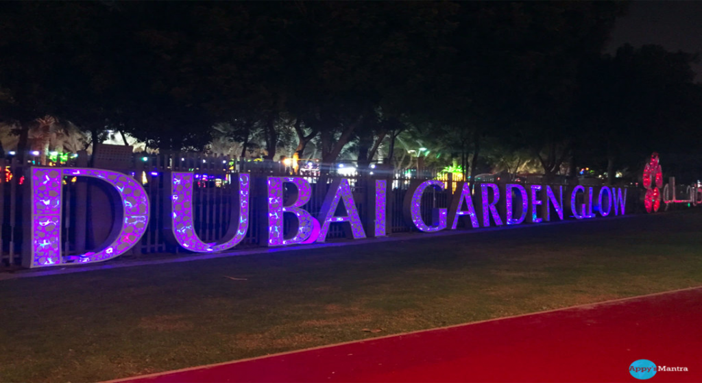An Evening At Glow Garden Dubai