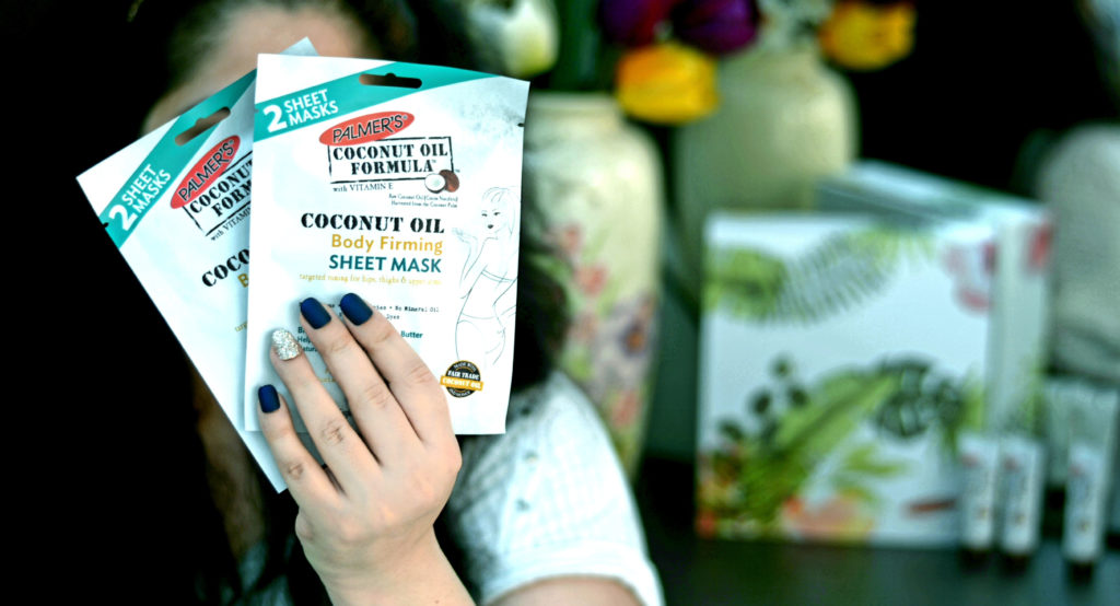 Coconut Oil Body Firming Sheet Mask by Palmer's